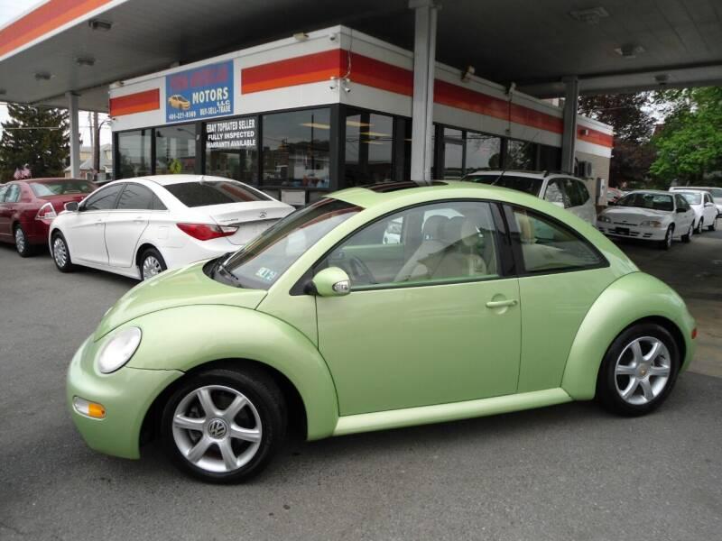 2004 Volkswagen New Beetle for sale at Penn American Motors LLC in Allentown PA