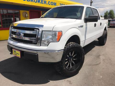 2013 Ford F-150 for sale at New Wave Auto Brokers & Sales in Denver CO