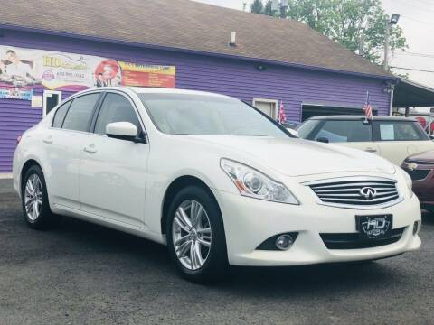 2013 Infiniti G37 Sedan for sale at HD Auto Sales Corp. in Reading PA