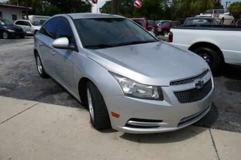 2013 Chevrolet Cruze for sale at J Linn Motors in Clearwater FL