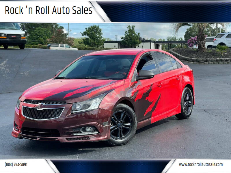 2014 Chevrolet Cruze for sale at Rock 'n Roll Auto Sales in West Columbia SC