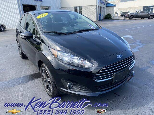 2019 Ford Fiesta for sale at KEN BARRETT CHEVROLET CADILLAC in Batavia NY