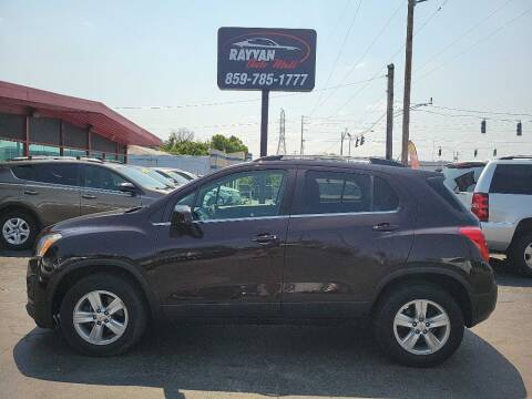 2016 Chevrolet Trax for sale at Rayyan Auto Mall in Lexington KY