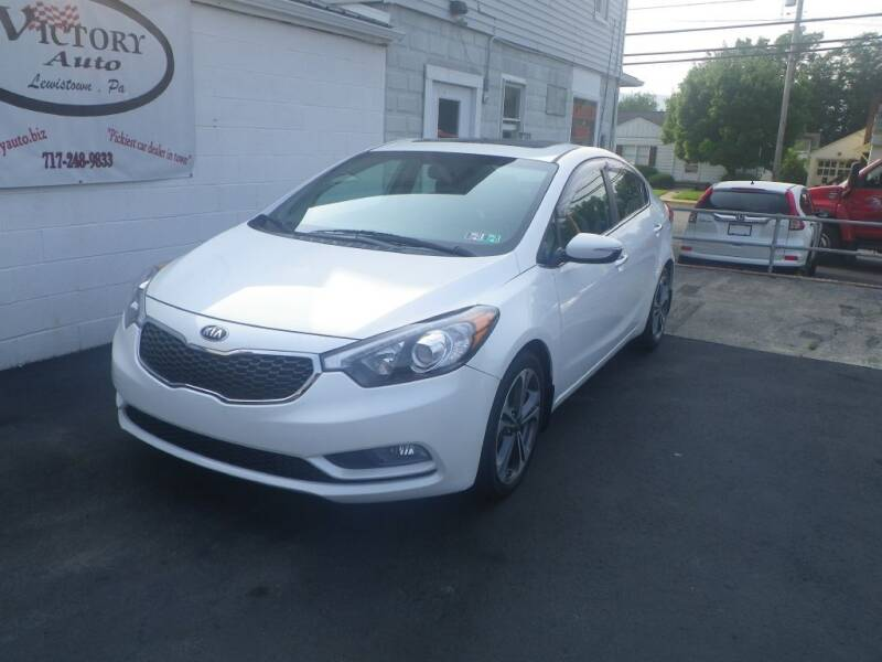 2015 Kia Forte for sale at VICTORY AUTO in Lewistown PA