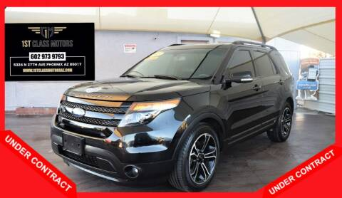 2015 Ford Explorer for sale at 1st Class Motors in Phoenix AZ