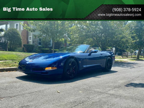 2004 Chevrolet Corvette for sale at Big Time Auto Sales in Vauxhall NJ