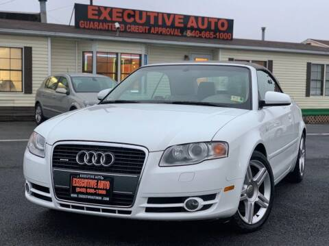 2007 Audi A4 for sale at Executive Auto in Winchester VA
