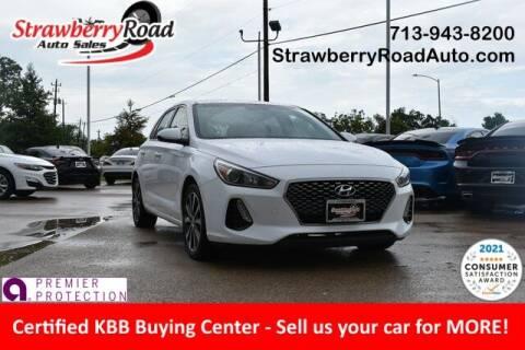 2018 Hyundai Elantra GT for sale at Strawberry Road Auto Sales in Pasadena TX