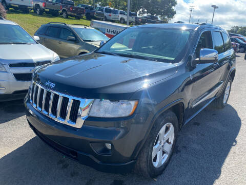 2011 Jeep Grand Cherokee for sale at Ball Pre-owned Auto in Terra Alta WV