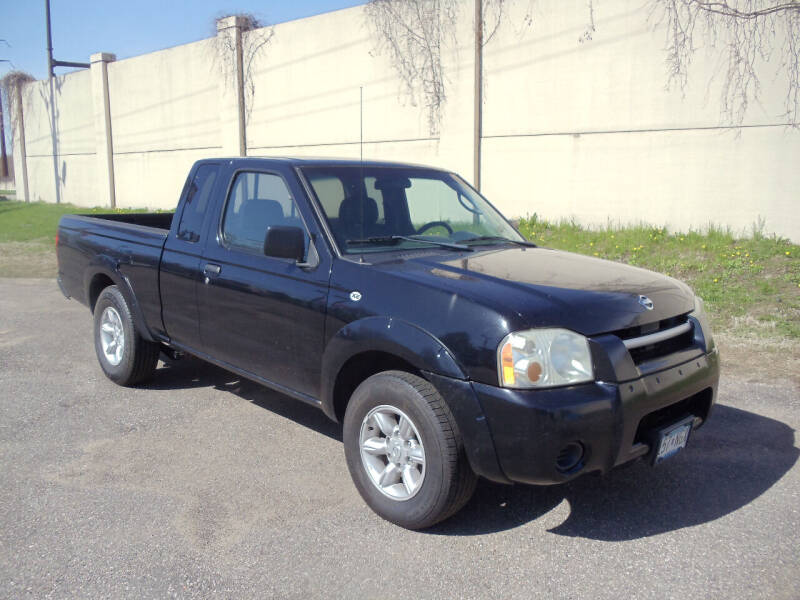 2002 Nissan Frontier for sale at Metro Motor Sales in Minneapolis MN