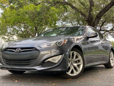 2014 Hyundai Genesis Coupe for sale at HIGH PERFORMANCE MOTORS in Hollywood FL