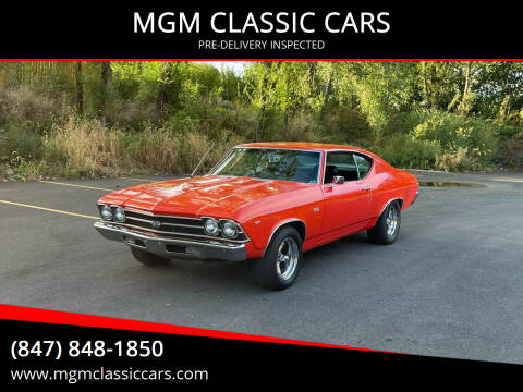 1969 Chevrolet Chevelle for sale at MGM CLASSIC CARS-New Arrivals in Addison IL