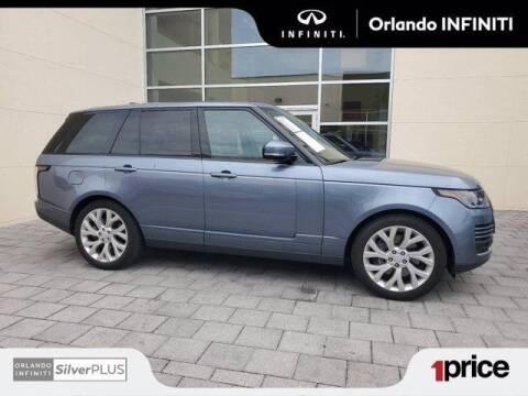 2019 Land Rover Range Rover for sale at Orlando Infiniti in Orlando FL