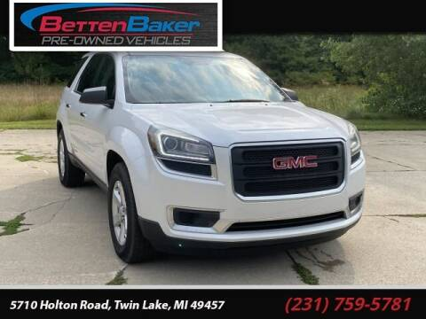 2016 GMC Acadia for sale at Betten Baker Preowned Center in Twin Lake MI
