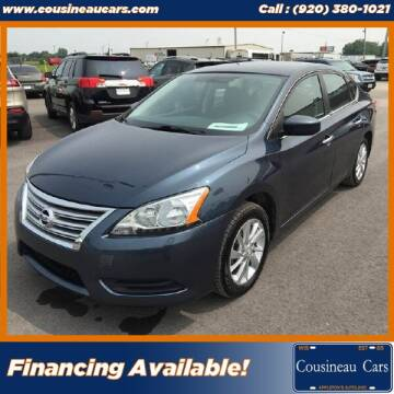 2014 Nissan Sentra for sale at CousineauCars.com in Appleton WI