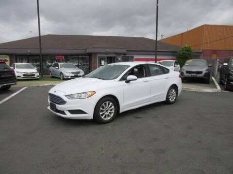 2017 Ford Fusion for sale at Lynnway Auto Sales Inc in Lynn MA