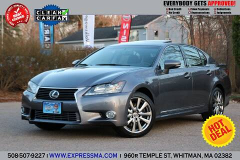 2013 Lexus GS 350 for sale at Auto Sales Express in Whitman MA