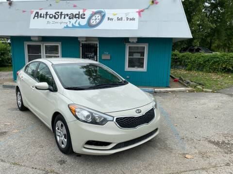 2015 Kia Forte for sale at Autostrade in Indianapolis IN