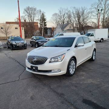 2014 Buick LaCrosse for sale at Bibian Brothers Auto Sales & Service in Joliet IL