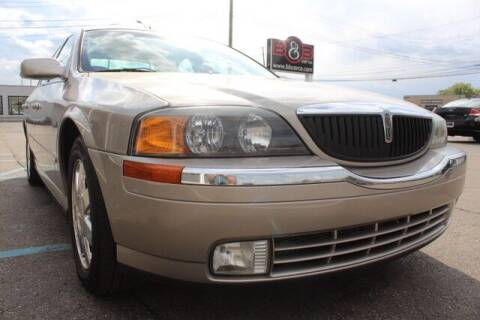 2002 Lincoln LS for sale at B & B Car Co Inc. in Clinton Twp MI
