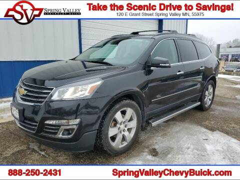2015 Chevrolet Traverse for sale at Spring Valley Chevrolet Buick in Spring Valley MN