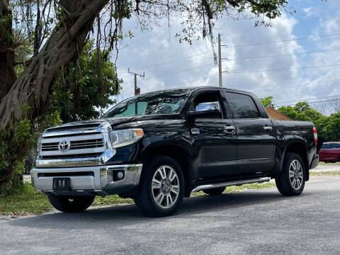 2014 Toyota Tundra for sale at Auto Direct of South Broward in Miramar FL