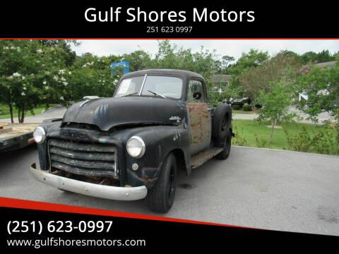 1949 GMC 100 for sale at Gulf Shores Motors in Gulf Shores AL