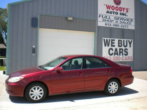 2005 Toyota Camry for sale at Woody's Auto Sales Inc in Randolph MN