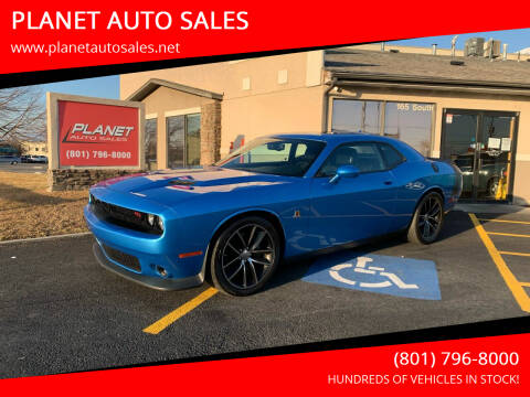 2016 Dodge Challenger for sale at PLANET AUTO SALES in Lindon UT