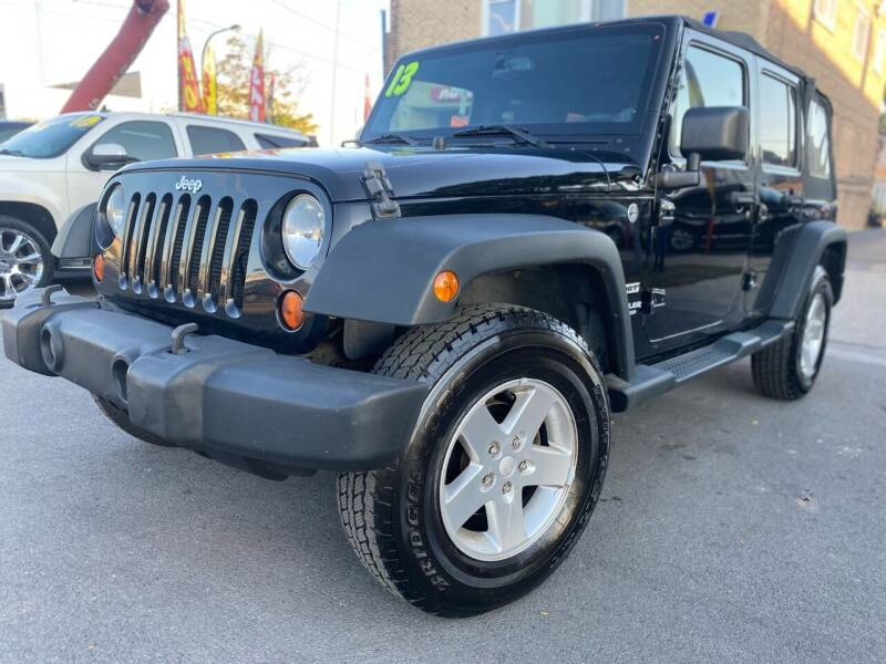 2013 Jeep Wrangler Unlimited for sale at Drive Now Autohaus in Cicero IL