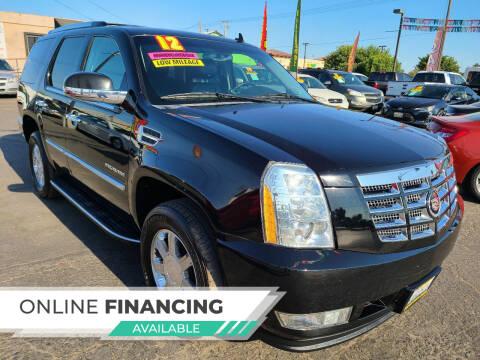 2012 Cadillac Escalade for sale at Super Cars Sales Inc #1 - Super Auto Sales Inc #2 in Modesto CA