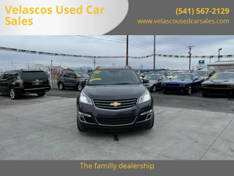 2015 Chevrolet Traverse for sale at Velascos Used Car Sales in Hermiston OR