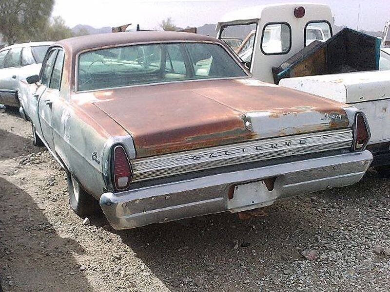 1967 Mercury Comet for sale at Collector Car Channel - Desert Gardens Mobile Homes in Quartzsite AZ