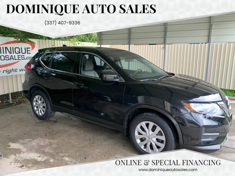 2017 Nissan Rogue for sale at Dominique Auto Sales in Opelousas LA