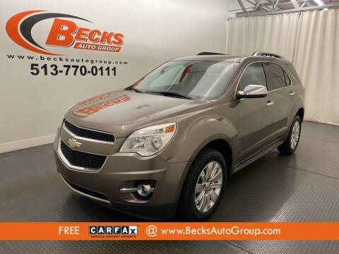 2011 Chevrolet Equinox for sale at Becks Auto Group in Mason OH