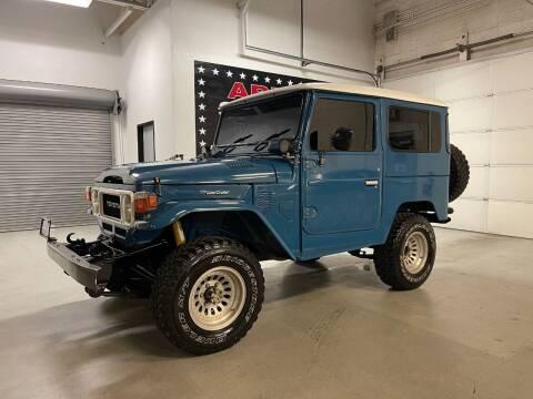 1981 Toyota FJ40 RHD for sale at Arizona Specialty Motors in Tempe AZ