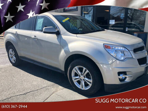 2015 Chevrolet Equinox for sale at Sugg Motorcar Co in Boyertown PA