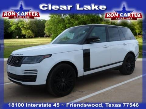 2019 Land Rover Range Rover for sale at Ron Carter  Clear Lake Used Cars in Houston TX