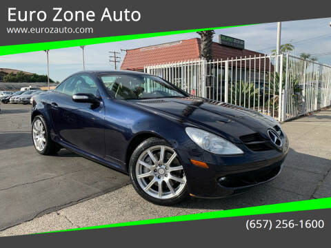 2008 Mercedes-Benz SLK for sale at Euro Zone Auto in Stanton CA