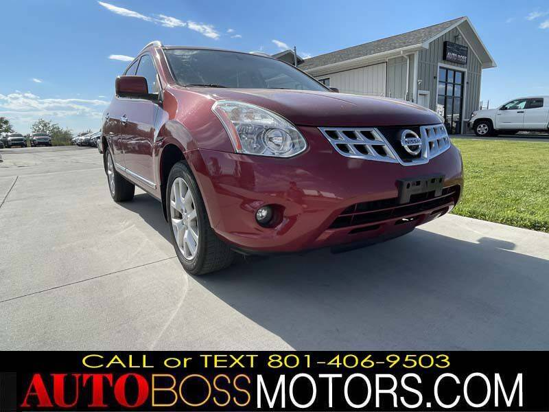 2013 Nissan Rogue for sale at Auto Boss in Woods Cross UT