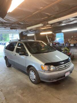 2003 Toyota Sienna for sale at Lavictoire Auto Sales in West Rutland VT