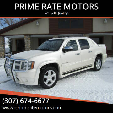 2012 Chevrolet Avalanche for sale at PRIME RATE MOTORS in Sheridan WY