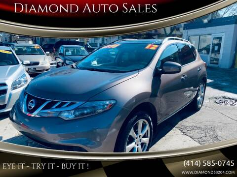 2012 Nissan Murano for sale at Diamond Auto Sales in Milwaukee WI