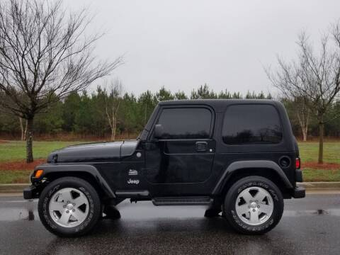2004 Jeep Wrangler for sale at CorpAuto in Cleveland GA
