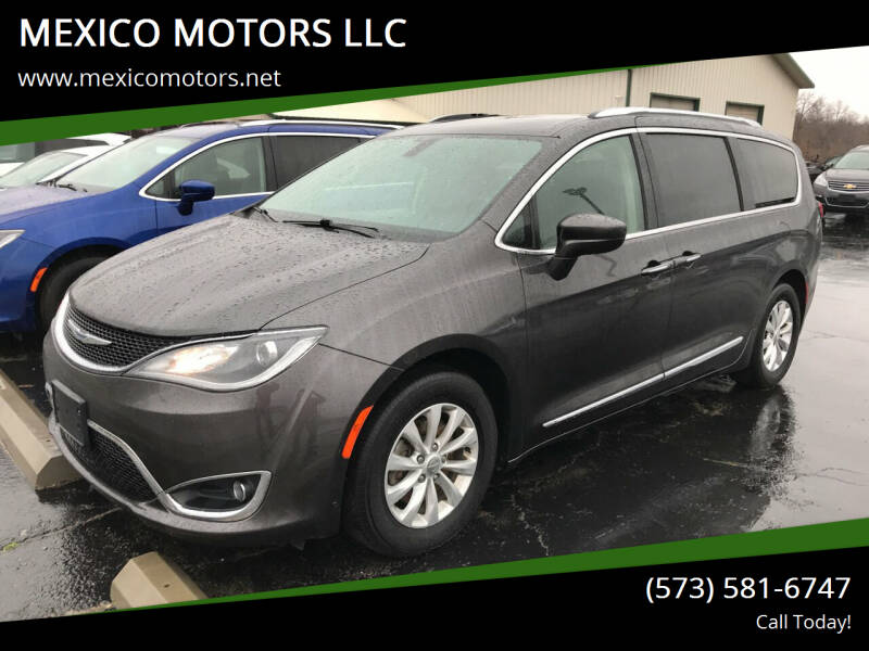 2018 Chrysler Pacifica for sale at MEXICO MOTORS LLC in Mexico MO