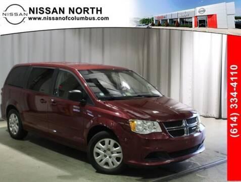 2016 Dodge Grand Caravan for sale at Auto Center of Columbus in Columbus OH