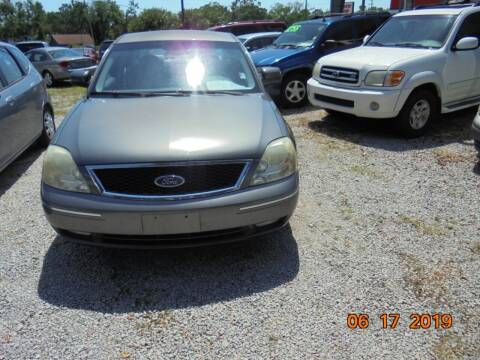 2005 Ford Five Hundred for sale at Webb's Automotive Inc 11 in Morehead City NC