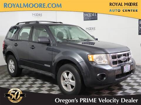 2008 Ford Escape for sale at Royal Moore Custom Finance in Hillsboro OR