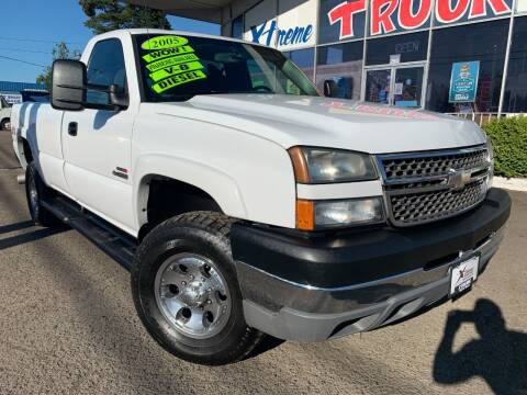 2005 Chevrolet Silverado 3500 for sale at Xtreme Truck Sales in Woodburn OR