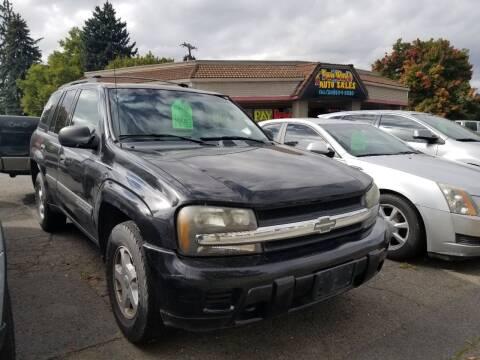 2003 Chevrolet TrailBlazer for sale at 2 Way Auto Sales in Spokane Valley WA